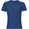 asics SS Top Hardloopshirt korte mouwen Heren blauw
